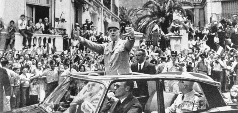 Де Голль в Алжире