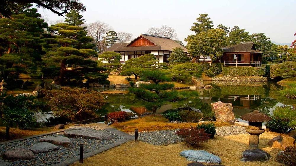 Дворец императора в Киото