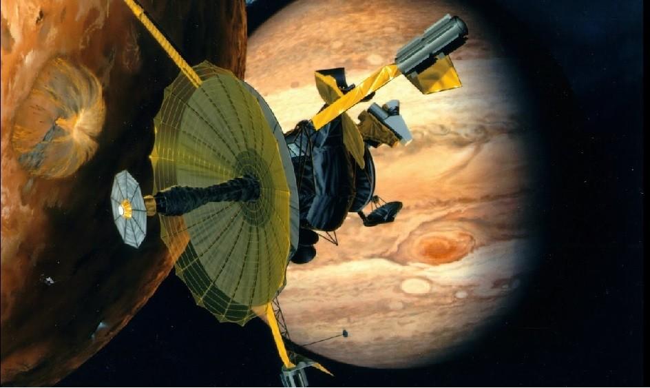 """""""Галилео"""" на орбите Юпитера"""