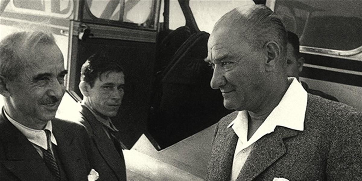 Исмет Иненю и Ататюрк