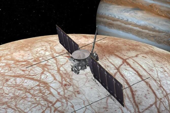 """""""Кассини-Гюйгенс"""" возле Юпитера"""