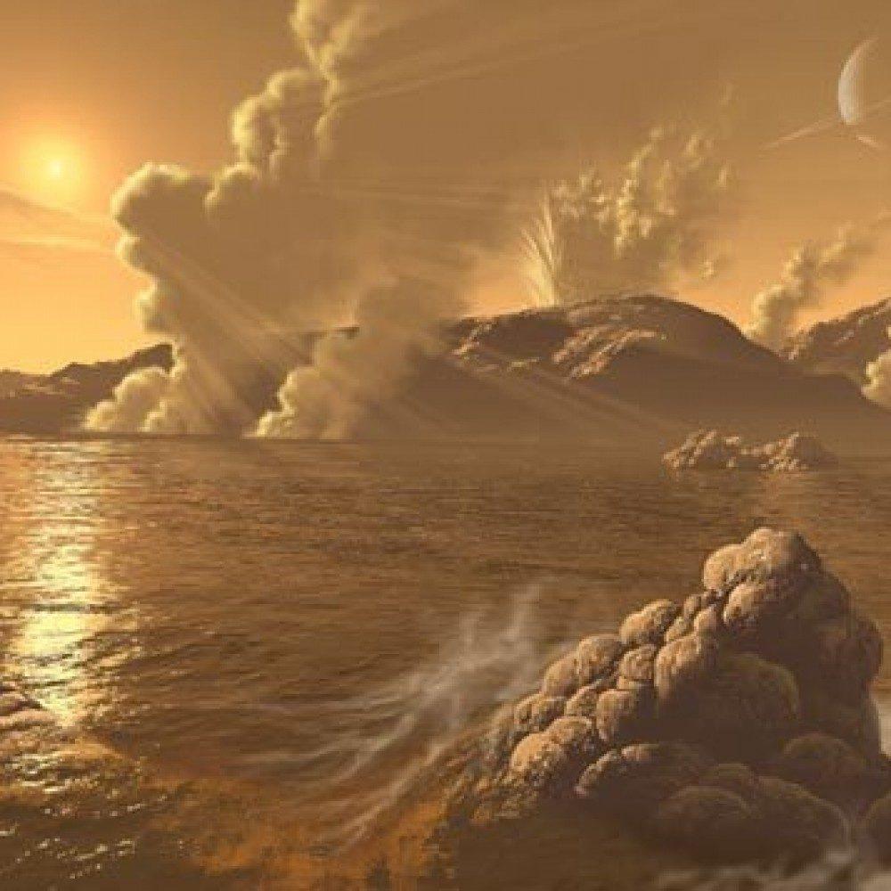 Криовулканы на Титане
