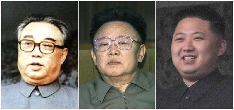 Лидеры северной Кореи