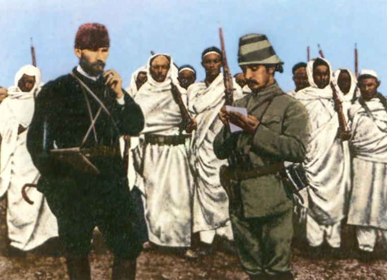 Мустафа Кемаль и боевые отряды