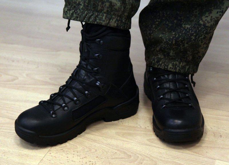 Новые армейские берцы