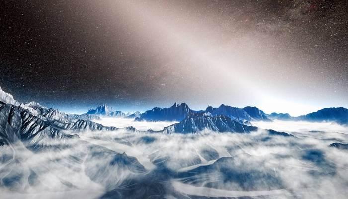 Осадки на Титане