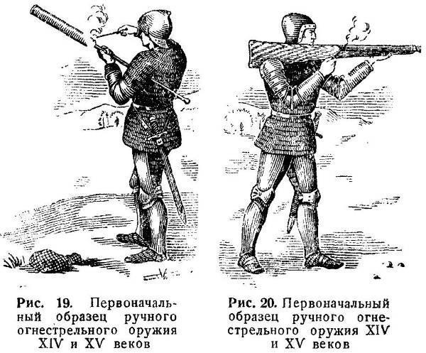 Первые ружья