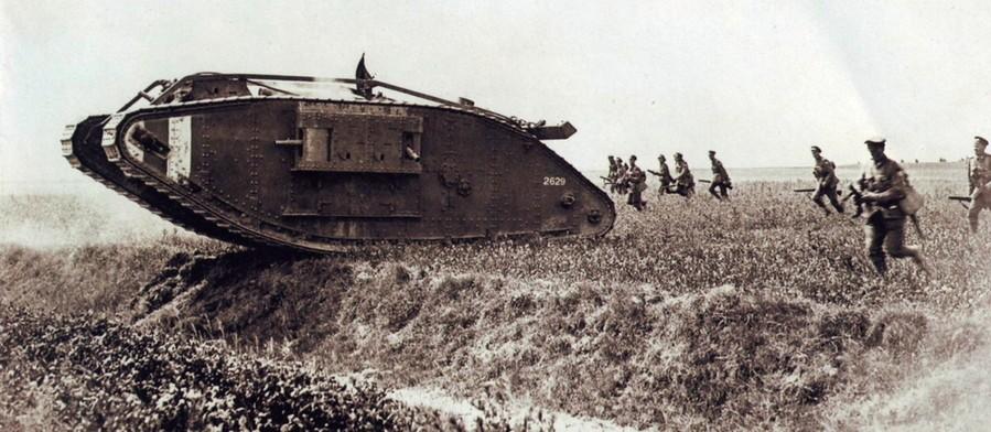 Первые танки