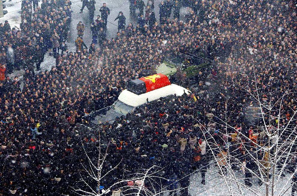 Похороны Ким Ир Сена