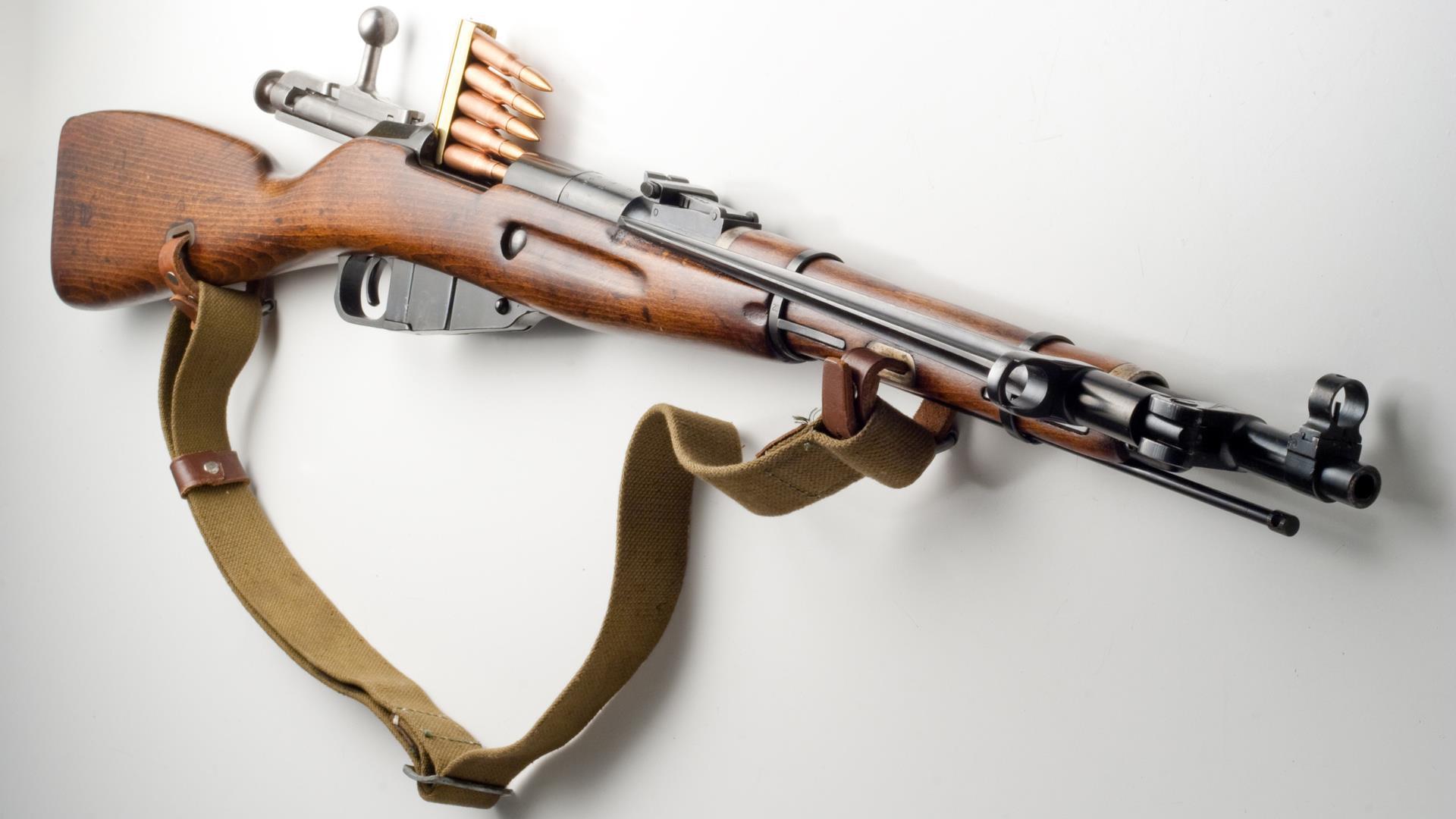 Ружье с продольно-скользящим затвором