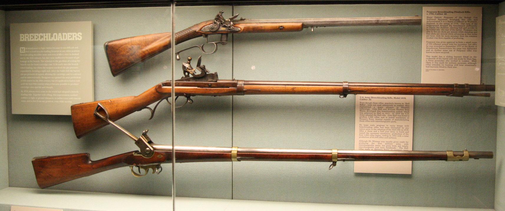 Ружья 18 века