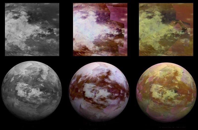 Снимки Титана