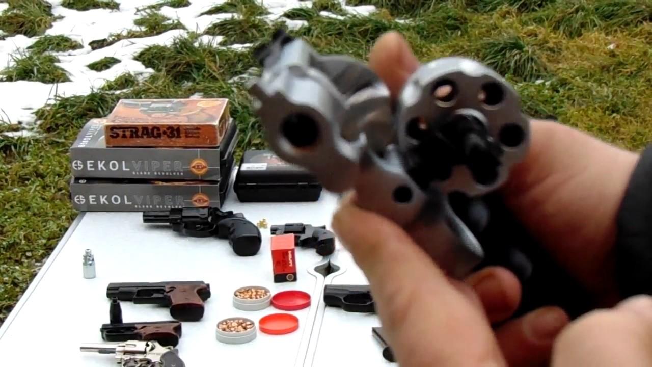 Стартовое оружие с патронами