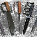 Виды траншейных ножей