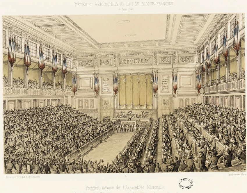 Заседание Национального собрания Франции