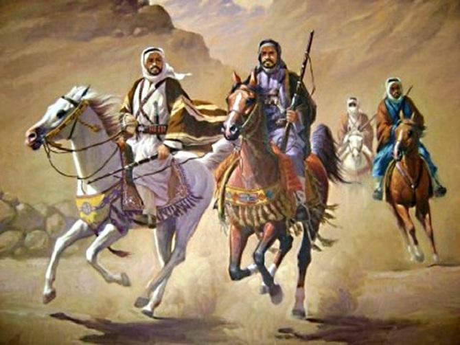 Армия Абдул Азиза идет на Мекку