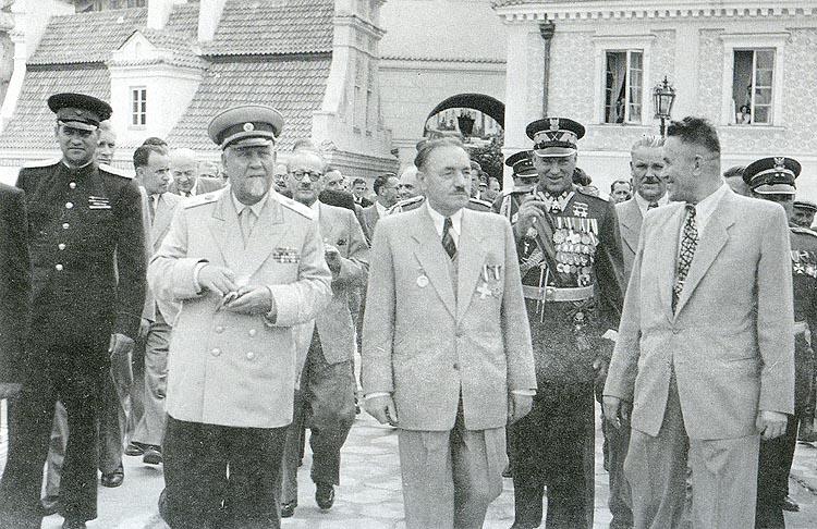 Болеслав Берут и Рокоссовский