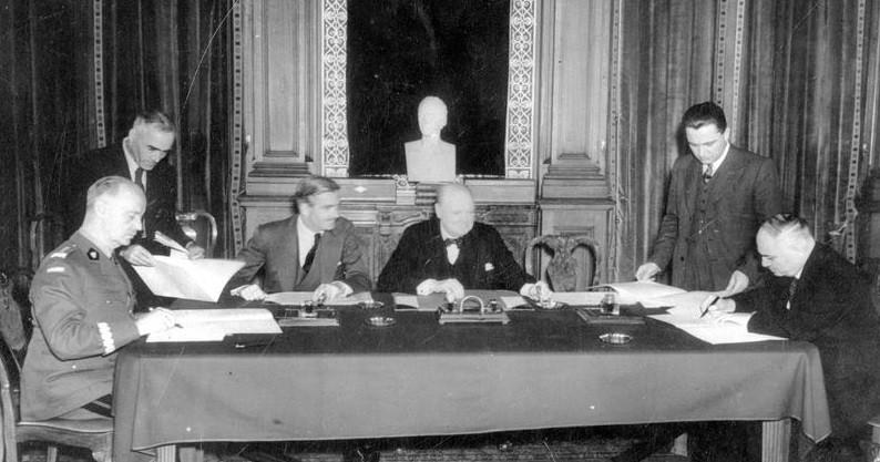 Черчилль и польское правительство в изгнании