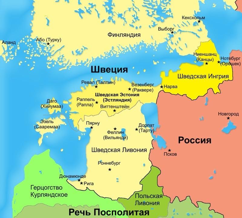 Финляндия в составе Швеции перед Северной войной