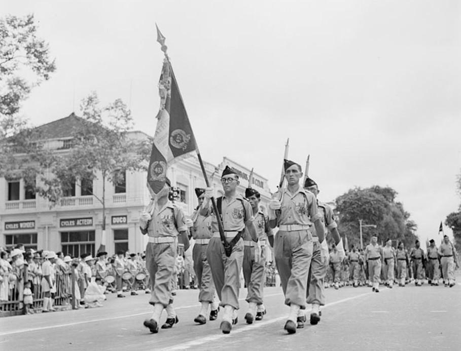 Французские войска в Северном Вьетнаме