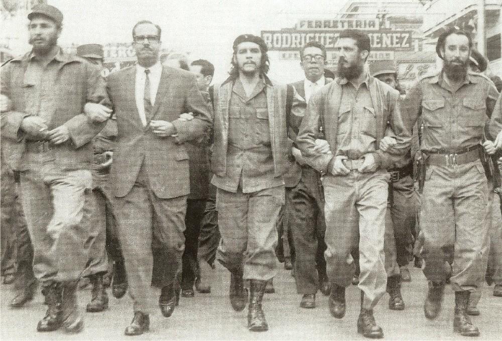 Кастро и Че Гевара во главе повстанцев