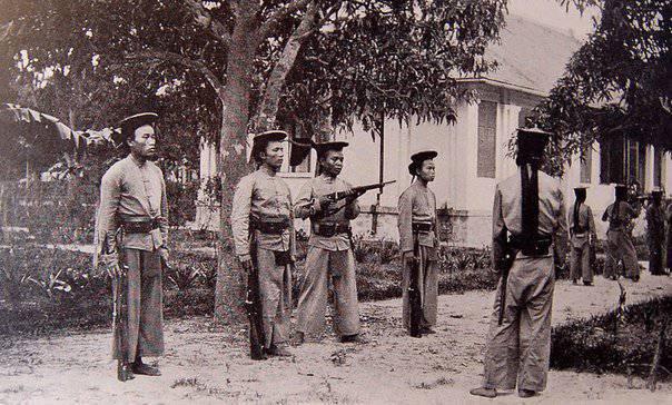 Колониальная армия Индокитая
