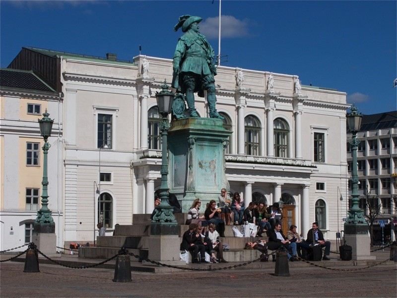 Памятник Густаву Адольфу