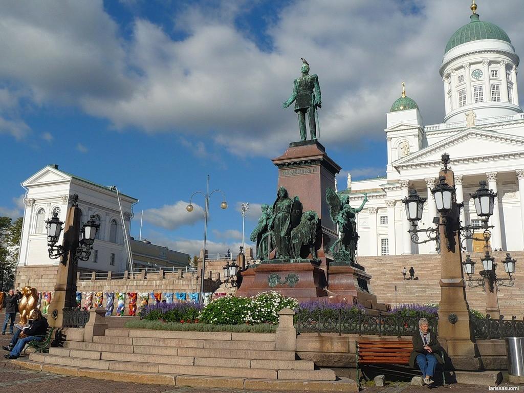 Памятник русскому царю, Хельсинки