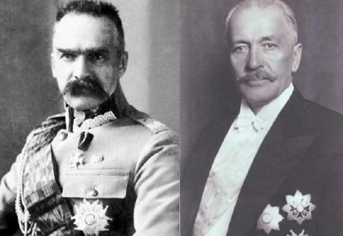 Пилсудский и Мосцицкий