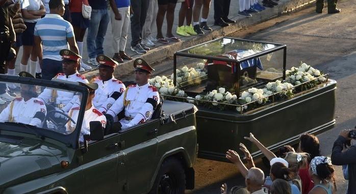 Похороны Кастро
