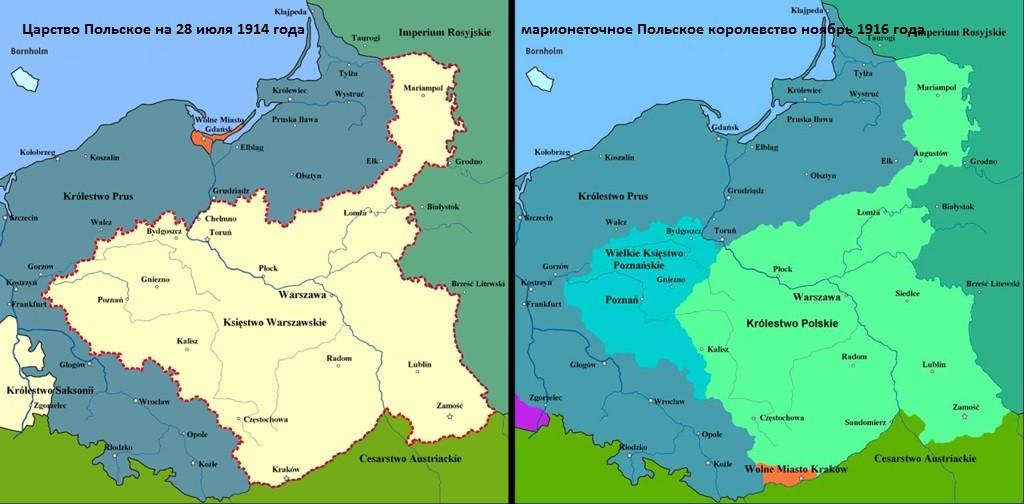 Польша и Первая Мировая война