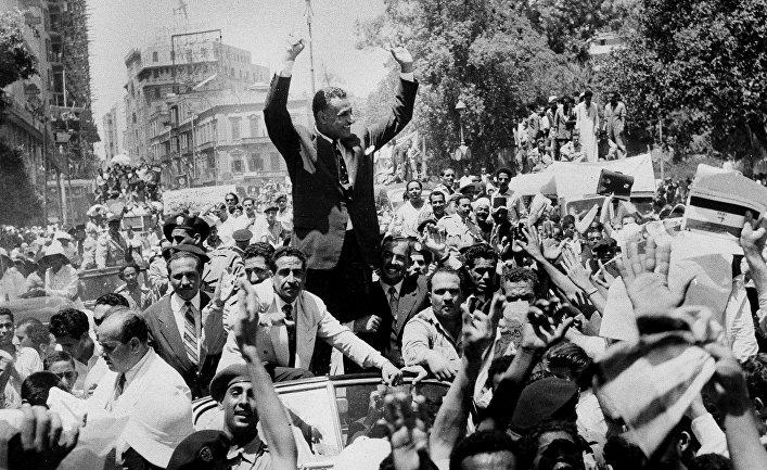 Популярность египетских президентов
