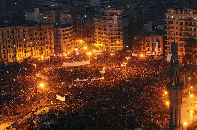 Протесты на улицах Каира