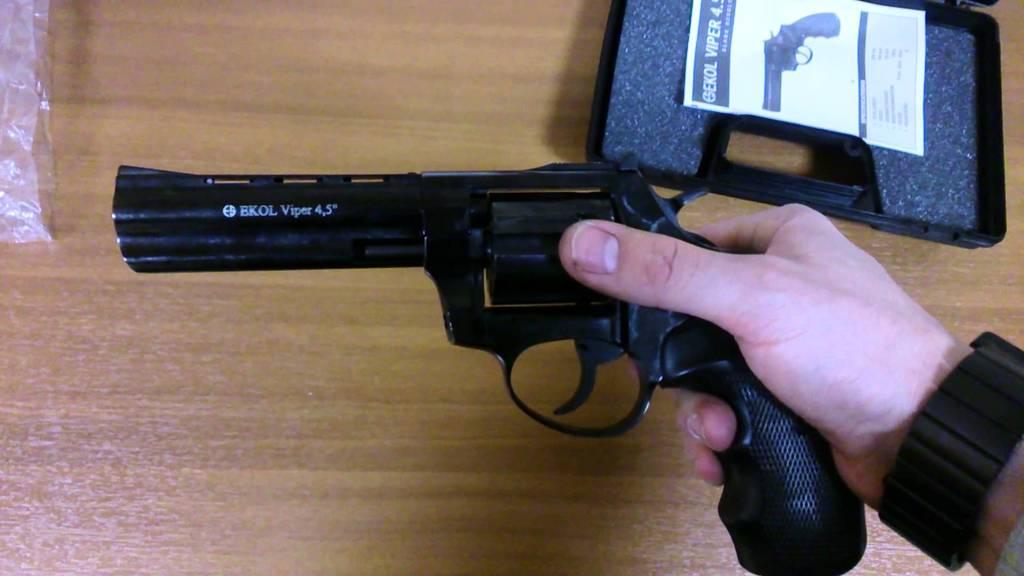 Сигнальный револьвер Ekol viper