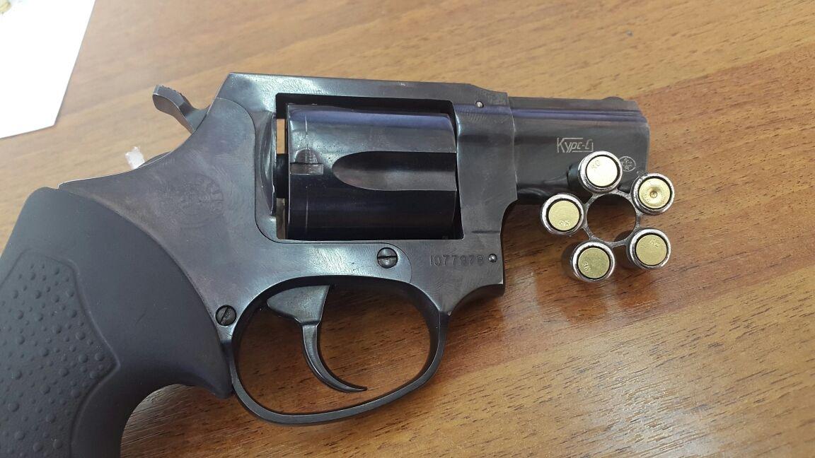 Сигнальный револьвер с патронами