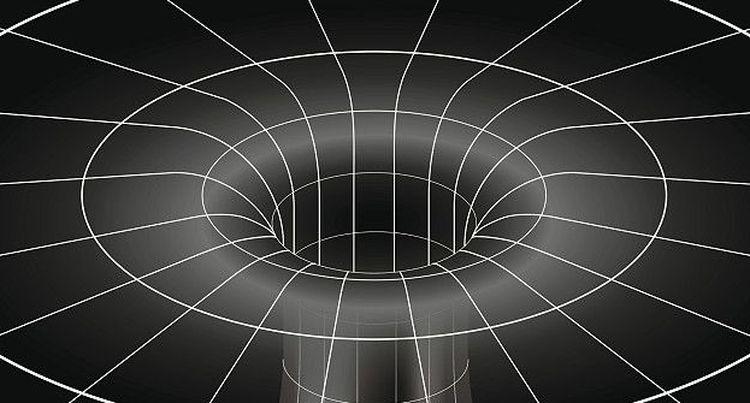 Схема черной дыры