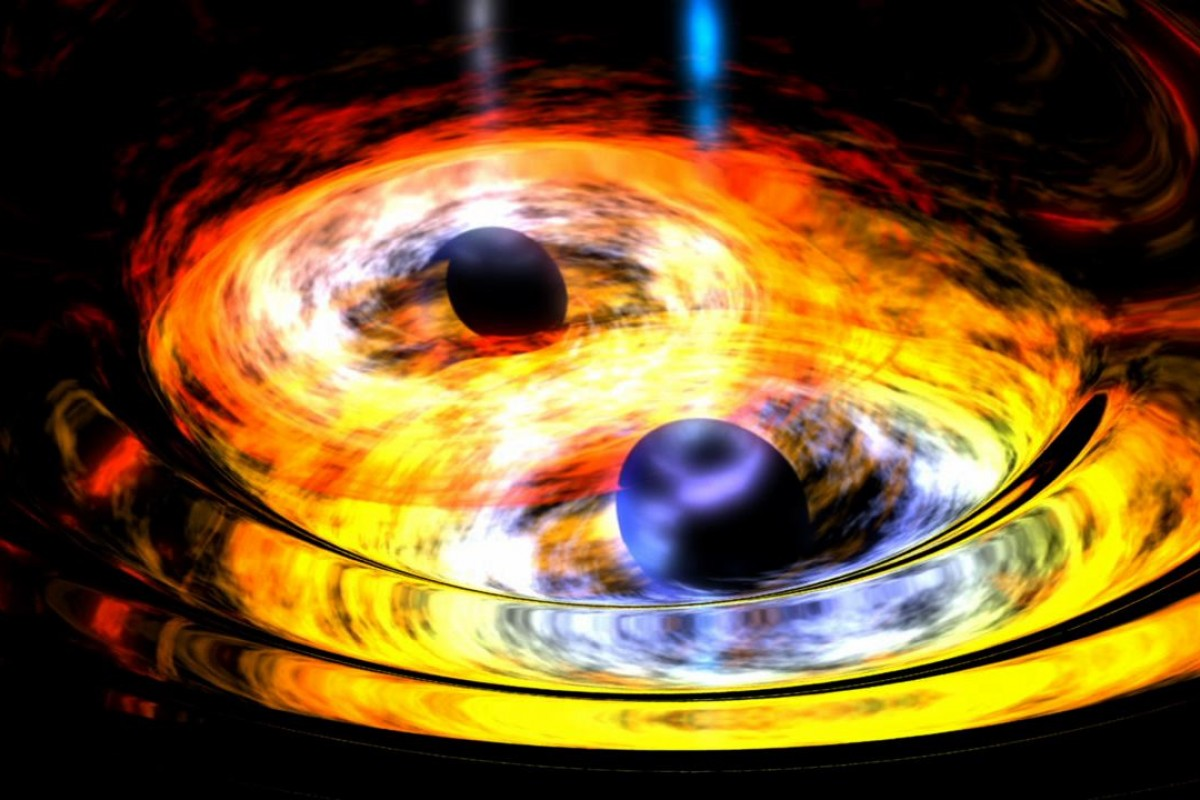 Слияние черных дыр
