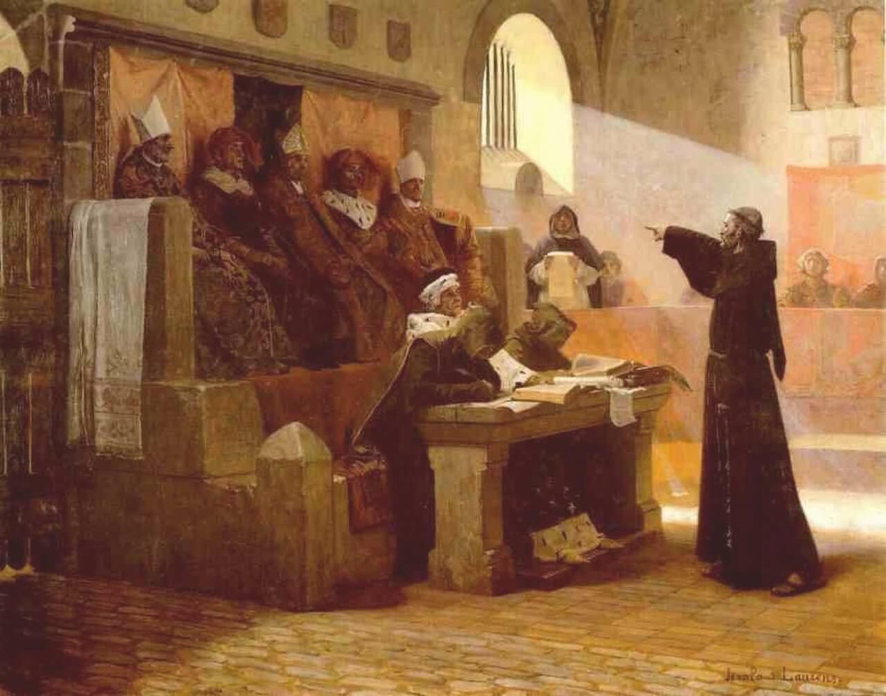 Суд над Мартином Лютером
