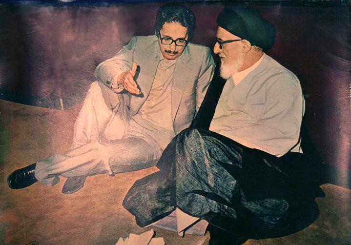 Банисадр и Аятолла Хомейни