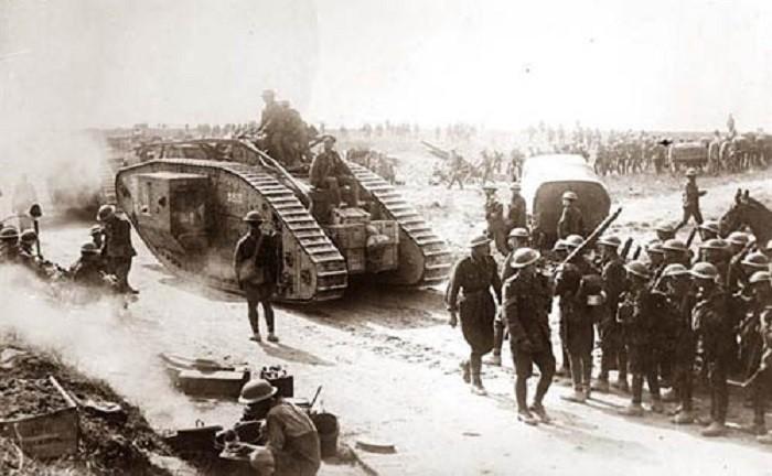 Британские войска в Ираке, Первая Мировая война