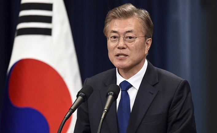 Действующий президент Южной Кореи