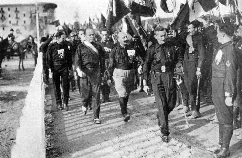 Движение фашистов в Италии