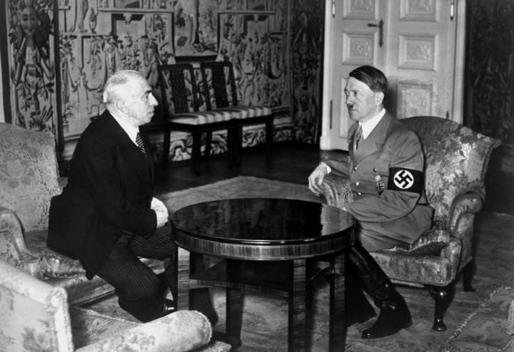 Эмил Гаха и Гитлер