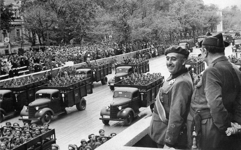 Франко в Мадриде