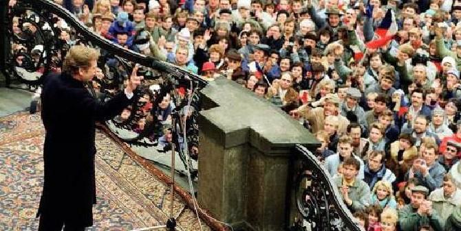 Гавел и бархатная революция