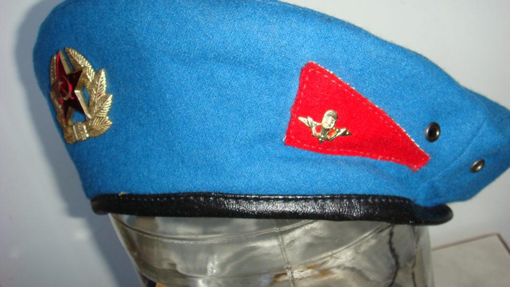 Голубой берет ВДВ СССР