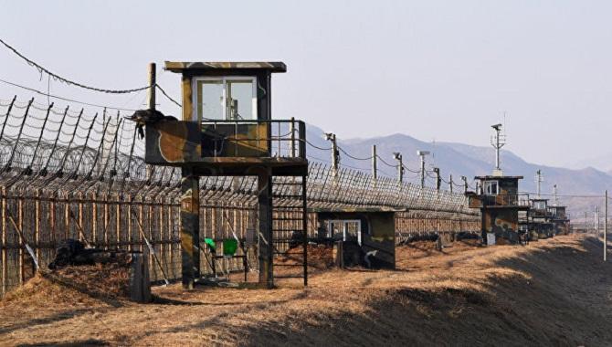 Граница Севера и Юга Кореи