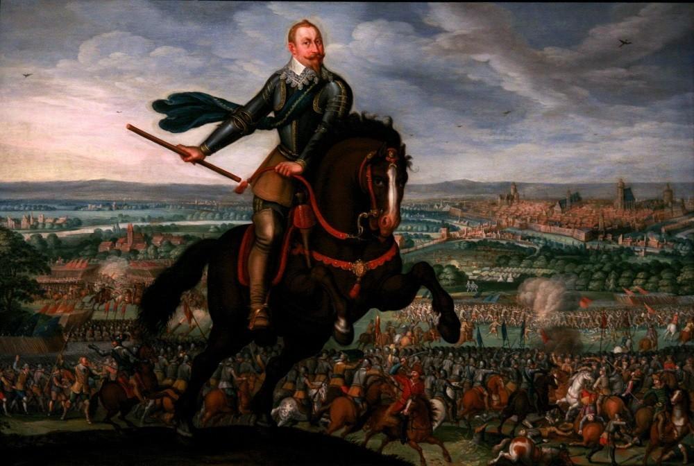 Король Густав II Адольф