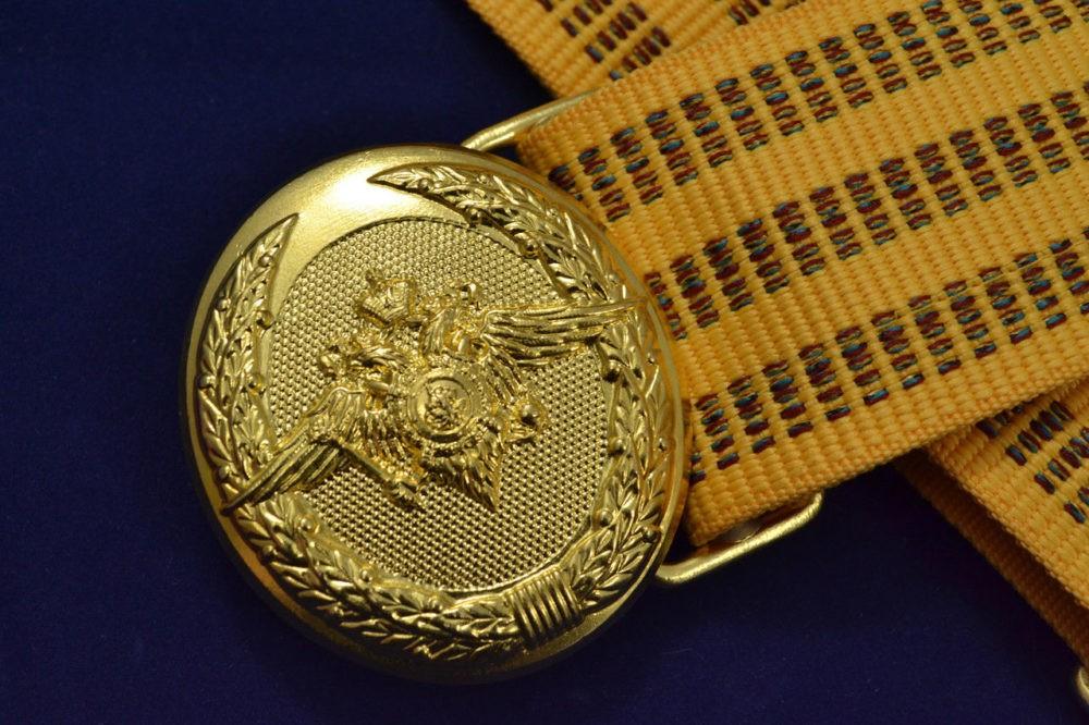 Парадный офицерский ремень армии России