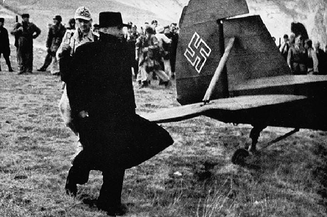 Попытка бегства Муссолини из страны